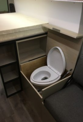 ARROWHEAD toilet