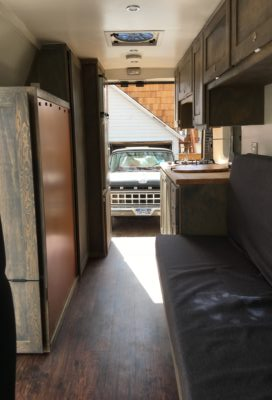 STEAMBOAT cabin rear view
